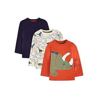 Mothercare Baby MB ST 3PK TEE LS T-Shirt,(Size:86)