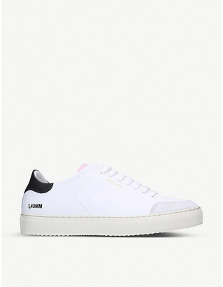 Axel Arigato Clean 90 Triple leather and suede trainers