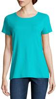 ST. JOHN'S BAY St. John's Bay Short Sleeve Crew Neck T-Shirt