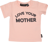 Rock Your Baby Baby Girls Love Your Mother Tee Pink