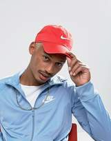 Nike Swoosh Cap In Red 546126-658