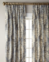 "6009 Parker Ikat Blackout Curtain, 132""L"