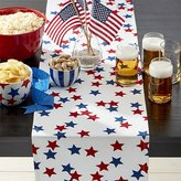"""Crate & Barrel 4th of July 90"""" Table Runner"""
