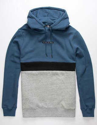 Volcom Single Stone Blue Mens Sweatshirt