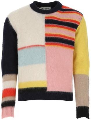 Lanvin Colour-Block Knit Sweater