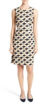 Milly Women's Kendra Chain Print Shift Dress