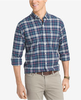 Izod Men's Big and Tall Plaid Long-Sleeve Shirt
