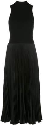 Polo Ralph Lauren pleated panel midi dress