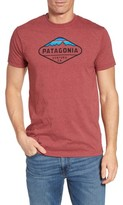 Patagonia Men's 'Fitz Roy Crest' Slim Fit Organic Cotton Blend T-Shirt