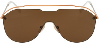 Fendi Oversized Aviator Sunglasses