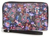 Marc Jacobs Women's Garden Paisley Phone Wallet - Purple