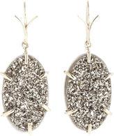 Dean Harris Druzy Agate Earrings