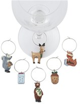 Davis & Waddell Woodland Wine Charm Set of 6