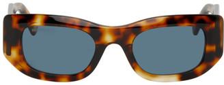 Balenciaga Tortoiseshell Blow Smart Sunglasses