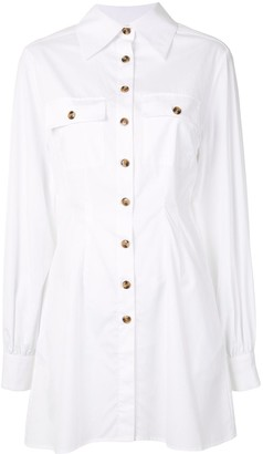 ANNA QUAN Niko mini shirt dress