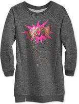 Epic Threads Hero Kids by Graphic Sweatshirt Dress, Toddler Girls (2T-5T), Created for Macy's