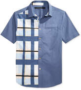 Sean John Men's Plaid Cotton Shirt, Only At Macy's