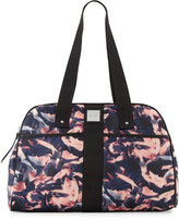 Nicole Miller City Life Printed Yoga Duffle Bag, Petal/Black