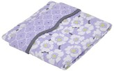 Balboa Baby Cotton Sateen Coverlet - Lavender Poppy & Trellis