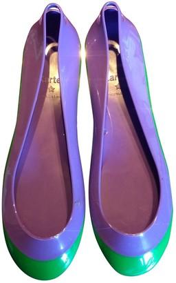 Kartell Purple Rubber Ballet flats