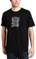 Impact Men's Joy Division Unknown Pleasures With Back Print T-Shirt