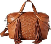 French Connection Cassidy Satchel Convertible Shoulder Bag