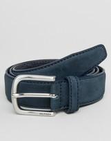 Tommy Hilfiger Inner Stripe Leather Belt