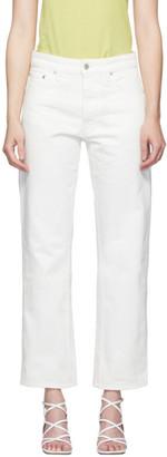 Nanushka White Amarillo Jeans
