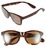 Maui Jim Women's 'Hana Bay' 51Mm Polarizedplus2 Sunglasses - Burgundy/ Maui Rose