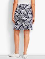Talbots Mixed-Ferns Skirt
