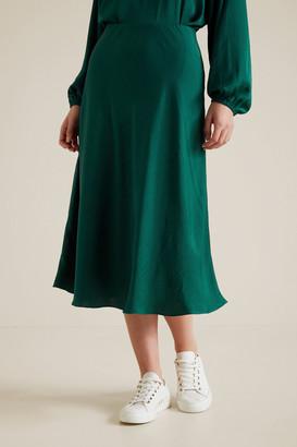 Seed Heritage Midi Swing Skirt
