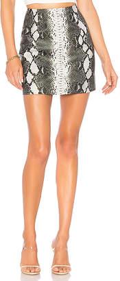 superdown Cassandra Snake Mini Skirt