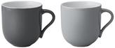 Stelton Emma Large Mug - Grey (Set of 2)