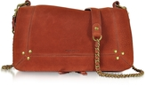 Jerome Dreyfuss Bobi Rust Leather Shoulder bag