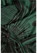 Zadig & Voltaire Kerry Scarf in Dark Green