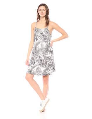28 Palms Women's Tropical Hawaiian Print Spaghetti Strap Shift Dress