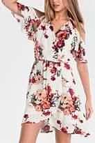 Miss Me Floral Wrap Dress