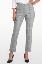 NYDJ Denise Ankle Trouser In Houndstooth Plaid