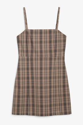 Monki Spaghetti strap mini dress