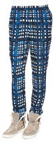 Thakoon Plaid Straight-Leg Silk-Blend Pants