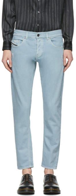 Diesel Black Gold Blue Slim Jeans