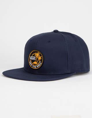 Vans Circle Palm Navy Mens Snapback Hat