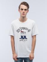 Levi's Bound Neck Gaphic S/S T-Shirt
