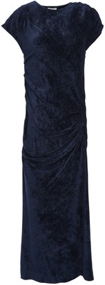 By Malene Birger Ruched Chenille Midi Dress