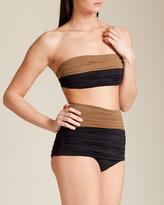 Clube Bossa Couture Solid Bandeau Bikini