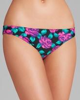 Shoshanna Pearl Beach Floral Bikini Bottom