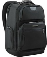 Briggs & Riley Men's 'Medium' Ballistic Nylon Backpack - Black