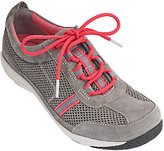 Dansko Suede & Mesh Lace-up Sneakers - Helen