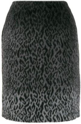 Karl Lagerfeld Paris x Carine brushed finish skirt