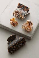 Anthropologie Tortoise Hair Clip Set